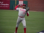 Phillies CF Tyson Gillies